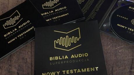 Według zamierzeń producenta cała Biblia Audio ma trwać ok. 110 godzin, fot. bibliaaudio.pl