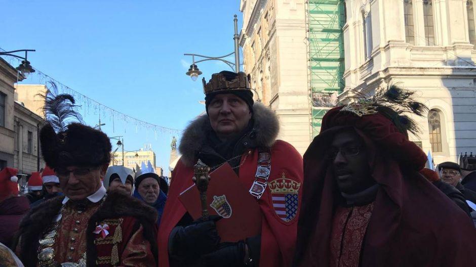 Orszak Trzech Króli w Łodzi, fot. TVP3