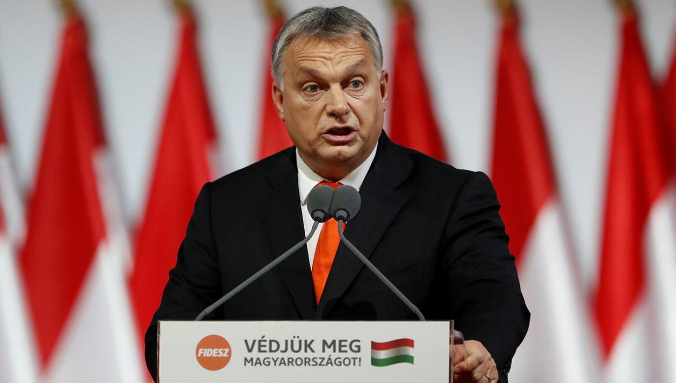 Viktor Orban na temat imigracji (fot. REUTERS/Laszlo Balogh)
