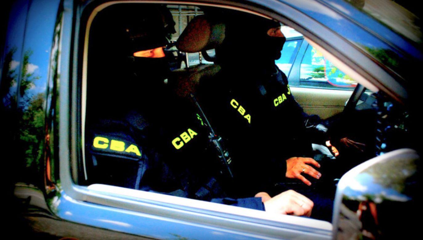 Funkcjonariusze nie wykluczają kolejnych zatrzymań (fot. CBA/zdjęcie ilustracyjne)