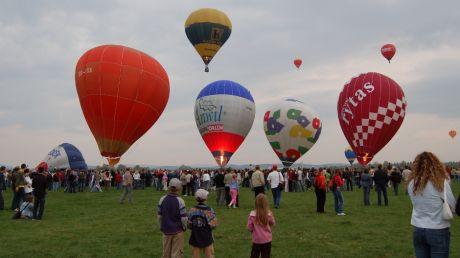 Balony nad Krosnem, fot. Archiwum Urzędu Miasta Krosna