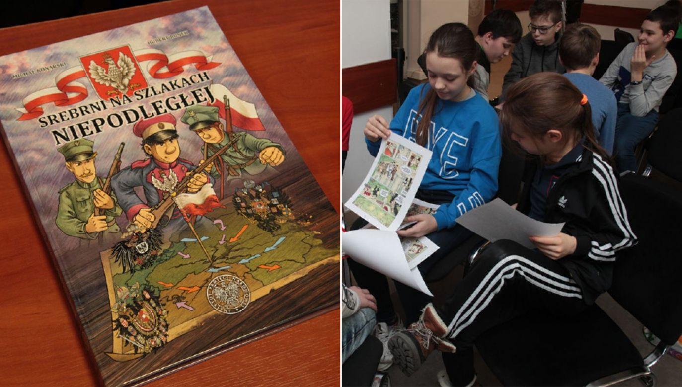 IPN planuje już wydanie kolejnego tomu komiksu z przygodami rodziny Srebrnych (fot. IPN)