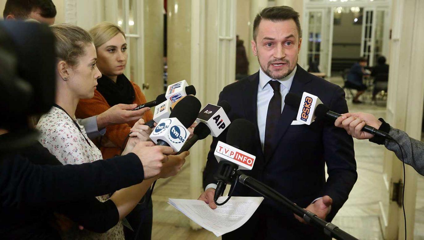 Piotr Guział będzie ubiegał się o fotel prezydenta Warszawy (fot. arch. PAP/Tomasz Gzell)