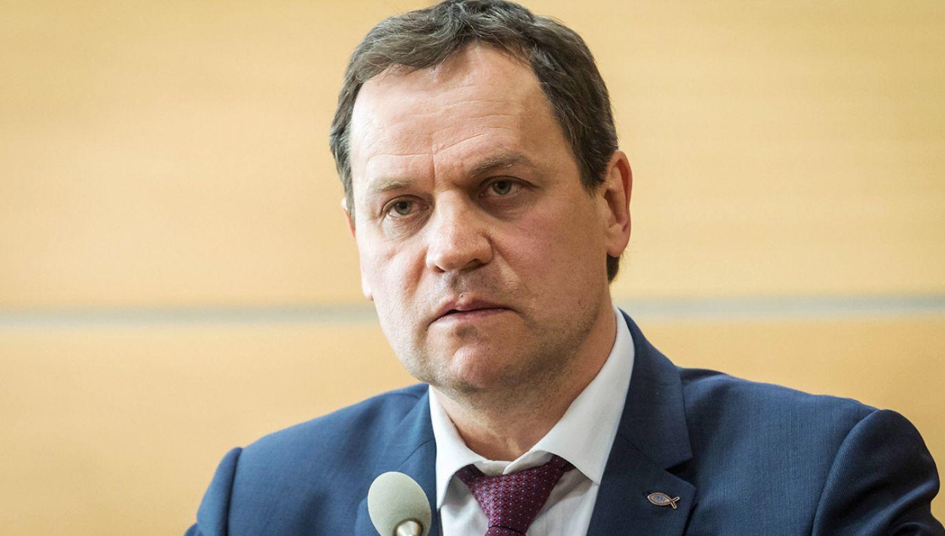 Nie jest to pierwszy start Tomaszewskiego w wyborach prezydenckich na Litwie (fot. arch.PAP/Tytus Żmijewski)