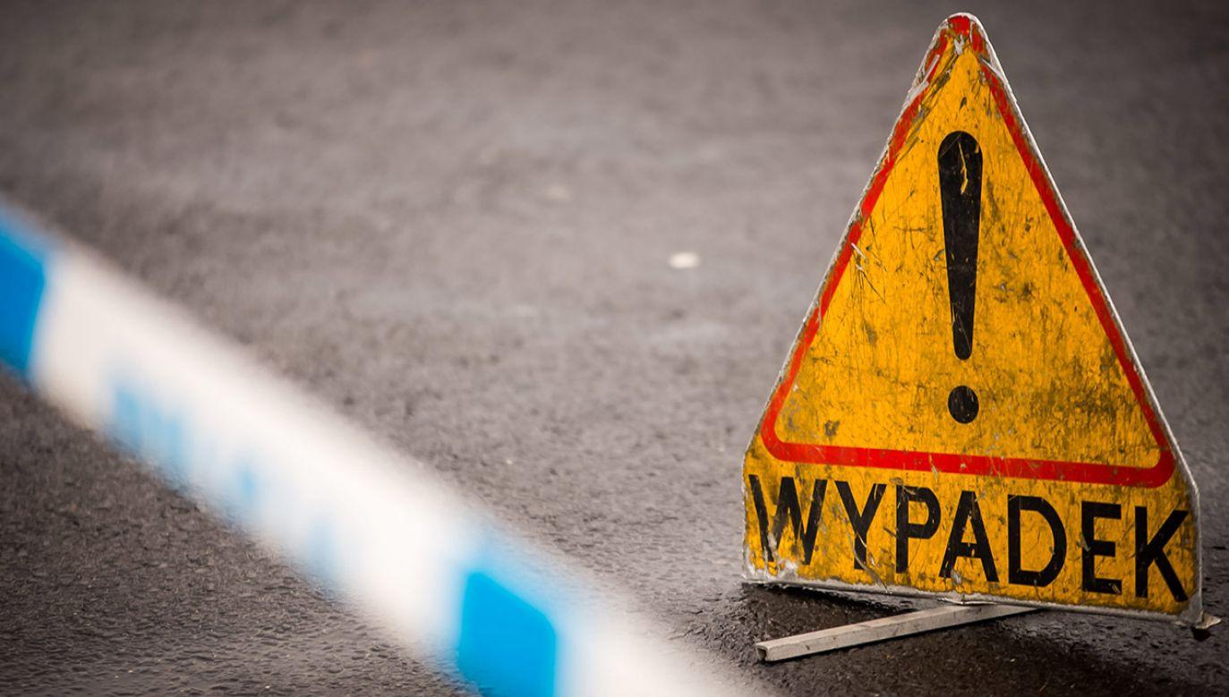 Do wypadku doszło na przebudowie jednej z ulic w Białymstoku (fot. arch.PAP)