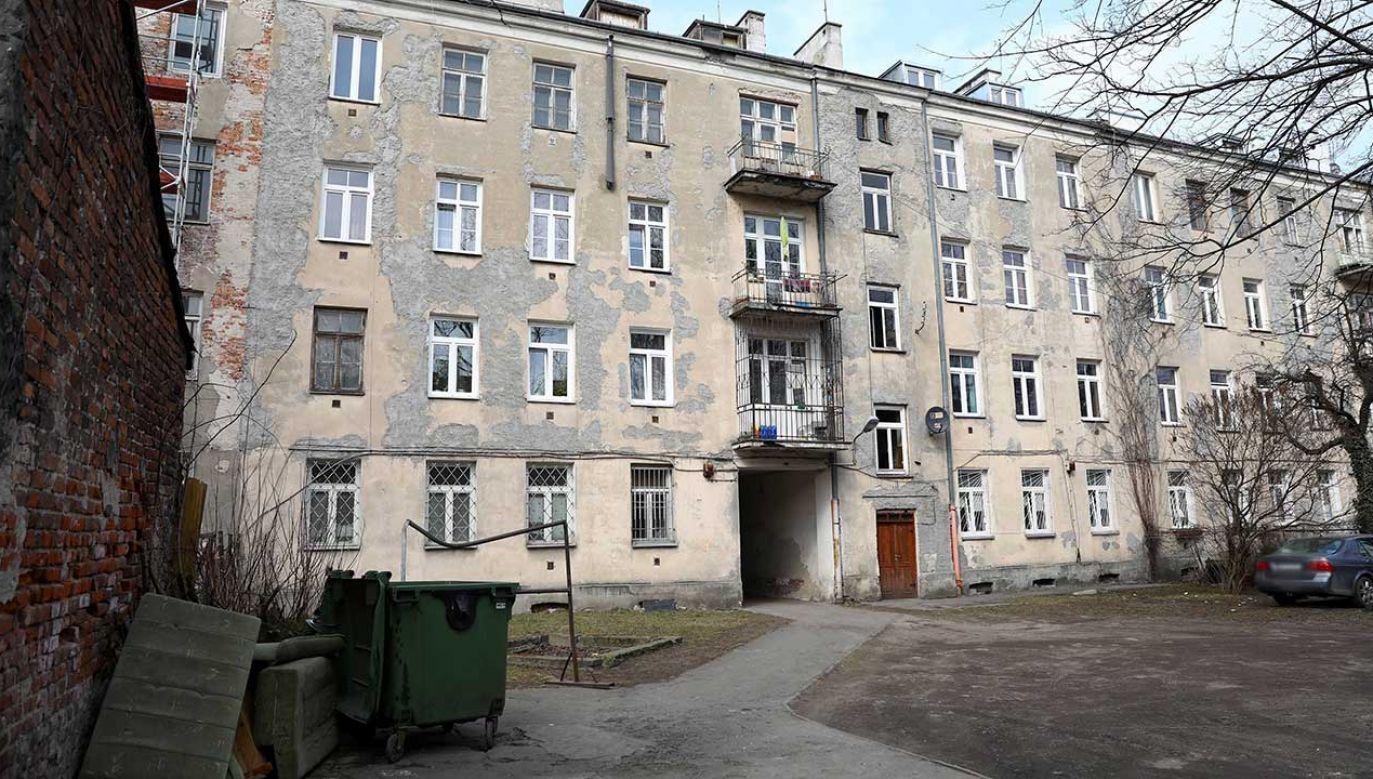 Kamienica przy ul. Łochowskiej 38 w Warszawie (fot. arch. PAP/Rafał Guz)