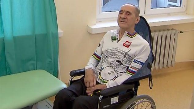 Ryszard Szurkowski uległ tragicznemu, kolarskiemu wypadkowi (fot. TVP Info)