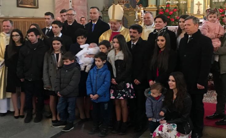 Rodzina Nelców zaprosiła na uroczystość prezydenta RP i byłą premier, aby wyrazić swoją wdzięczność.
