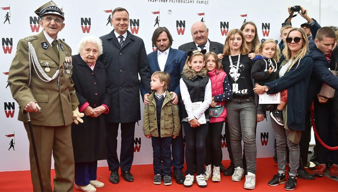 Honorowy patronat nad festiwalem objął prezydent Andrzej Duda (fot. PAP/Marcin Gadomski)