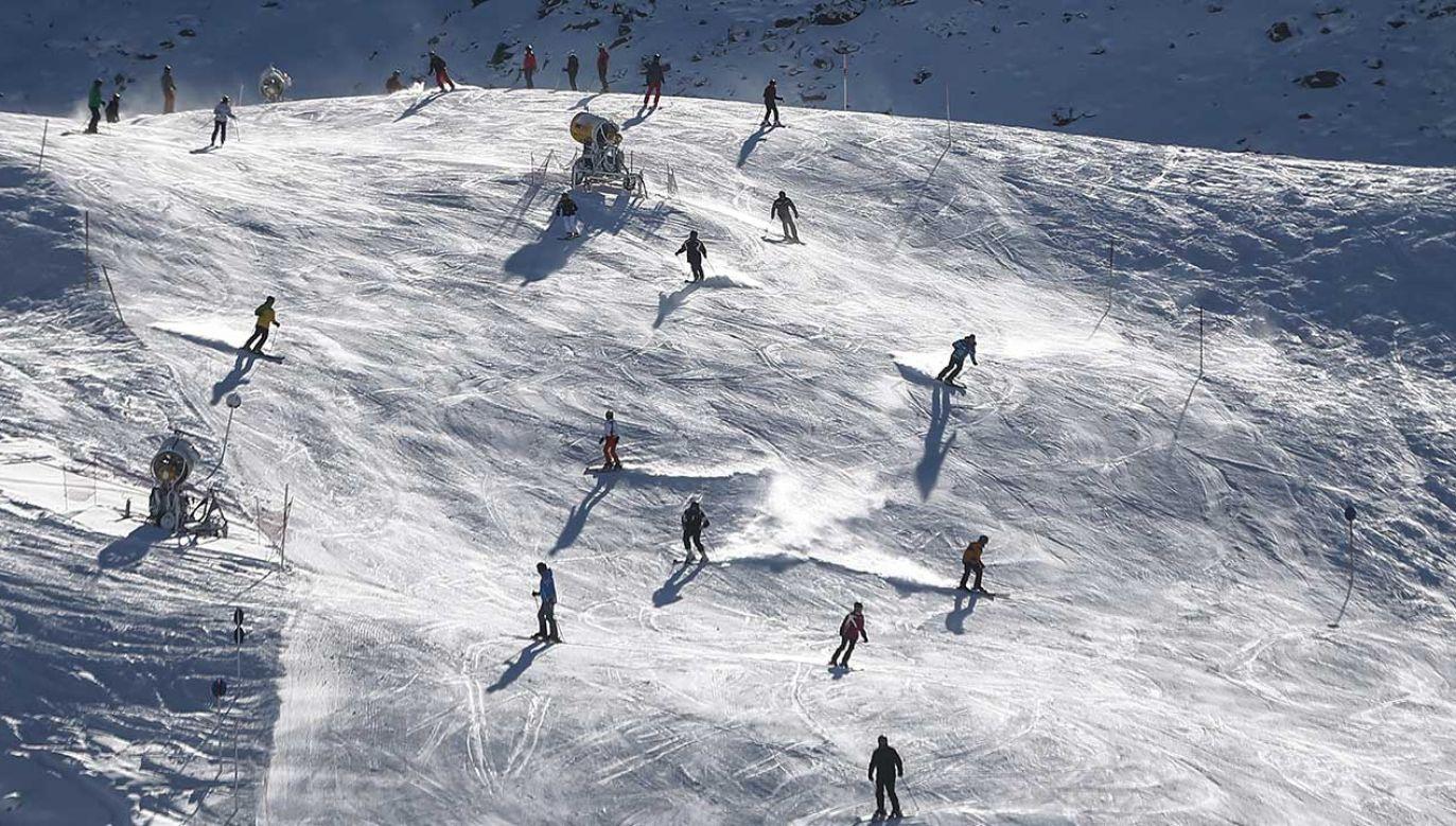Austriacki ośrodek narciarski Obergurgl (fot. REUTERS/Dominic Ebenbichler)