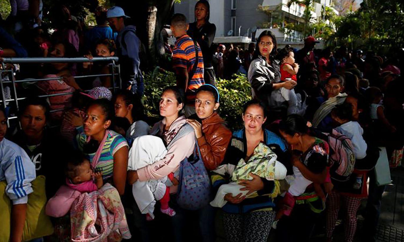 Wenezuela (fot. REUTERS/Carlos Garcia Rawlins)