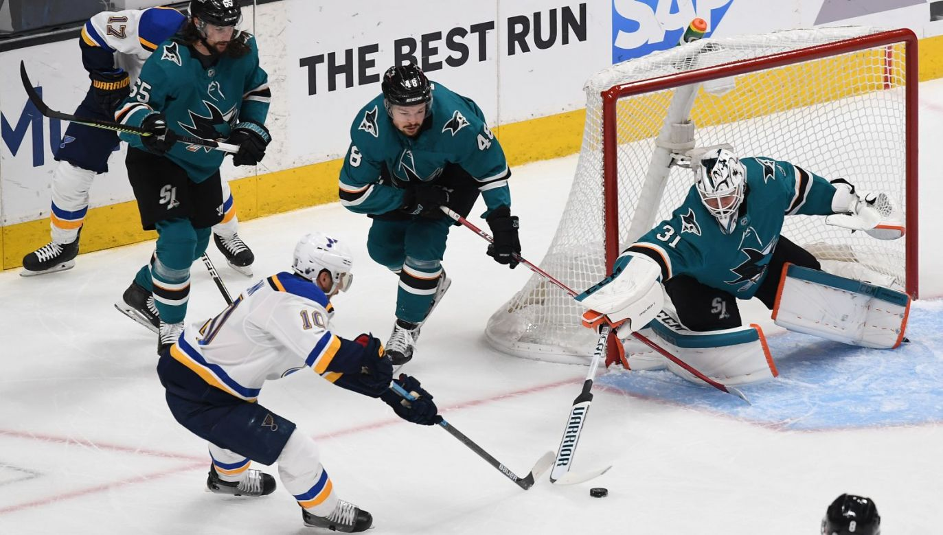 San Jose Sharks - St. Louis Blues (fot. Getty Images)