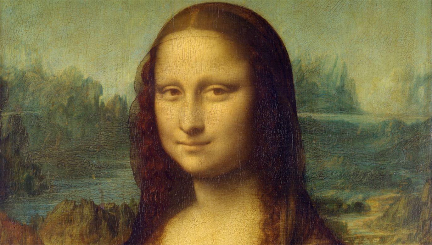 Tajemniczy uśmiech modelki z obrazu Leonarda da Vinci wciąż fascynuje badaczy (obr. Leonardo da Vinci)