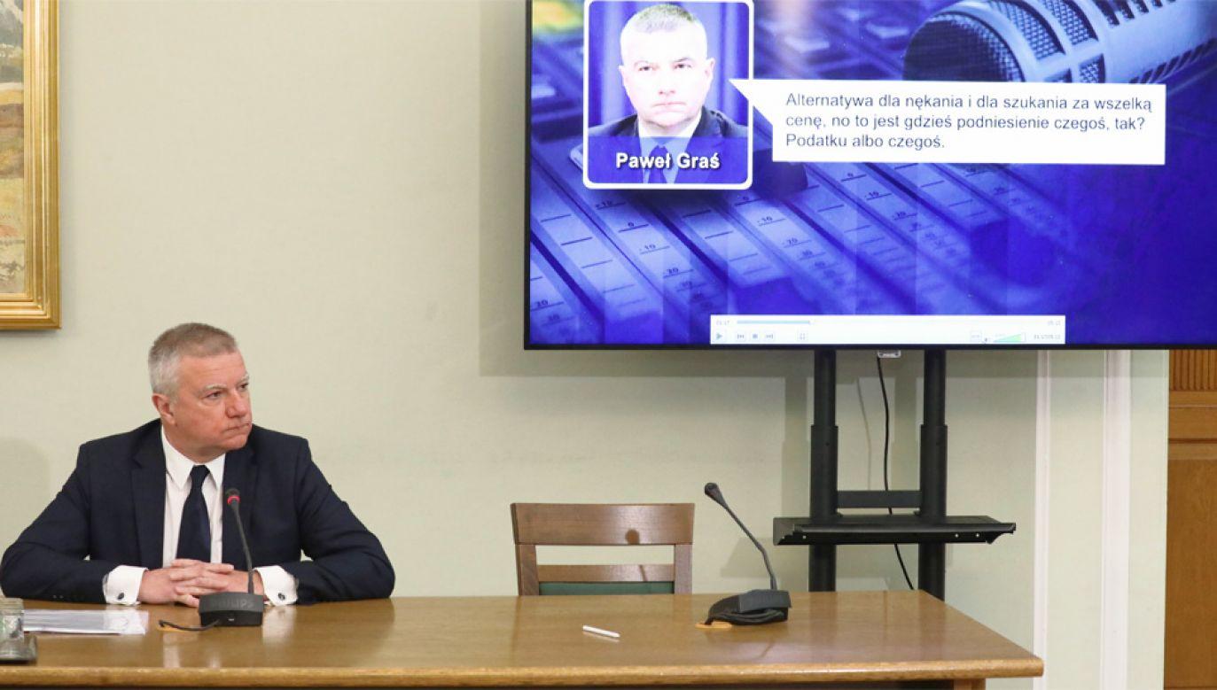 """Paweł Graś na wiele pytań odpowiedział: """"nie pamiętam"""" (fot. PAP/Tomasz Gzell)"""
