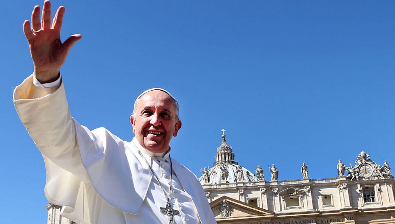 Papież Franciszek przestrzegł przed wygodnictwem (fot. Franco Origlia/Getty Images)