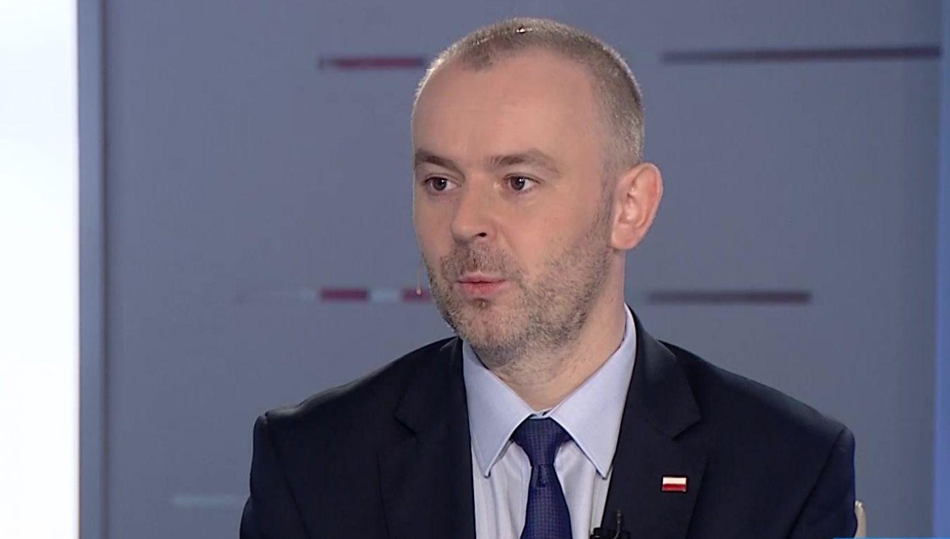 Wiceszef Kancelarii Prezydenta Paweł Mucha (fot. TVP Info)
