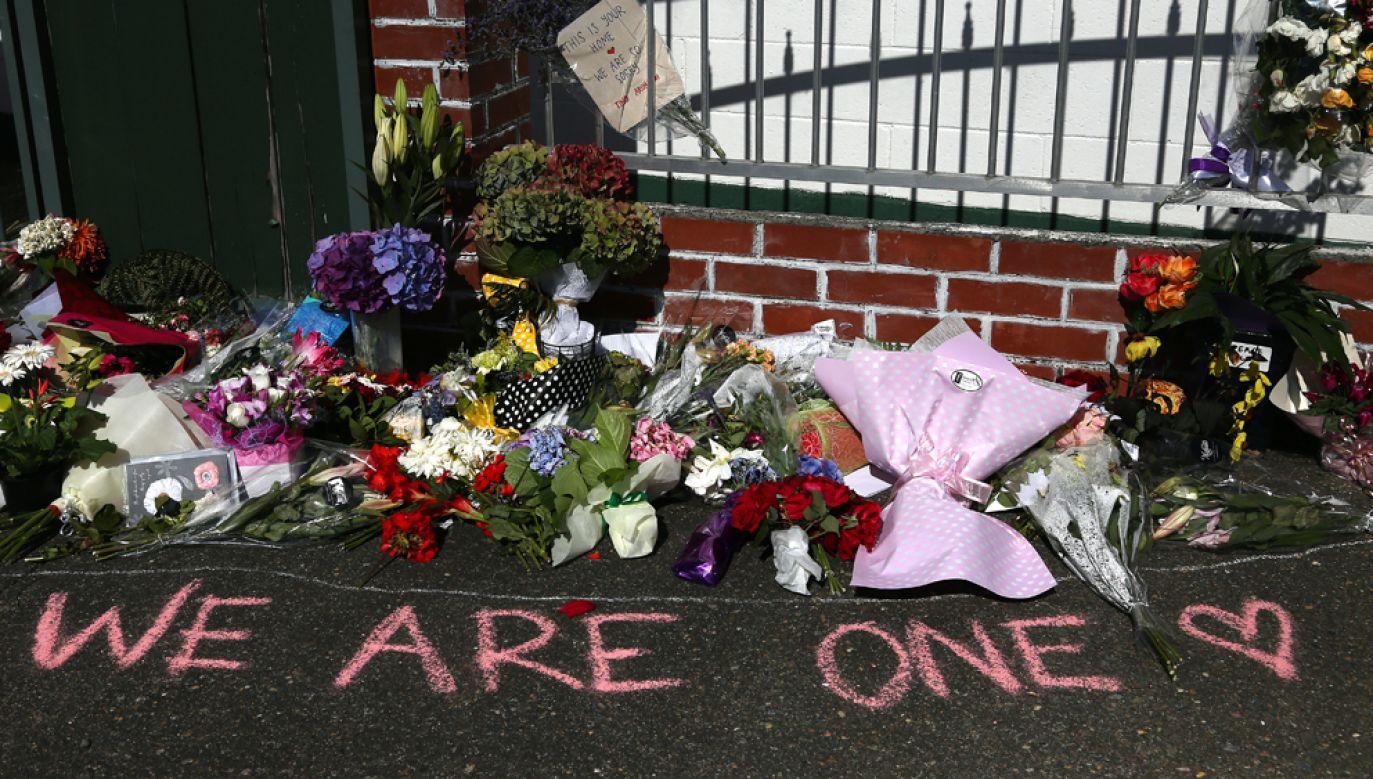 Australijczyk Brenton Tarrant w trakcie ataku zastrzelił w dwóch meczetach w nowozelandzkim Christchurch 50 osób (fot. Dianne Manson/Getty Images)
