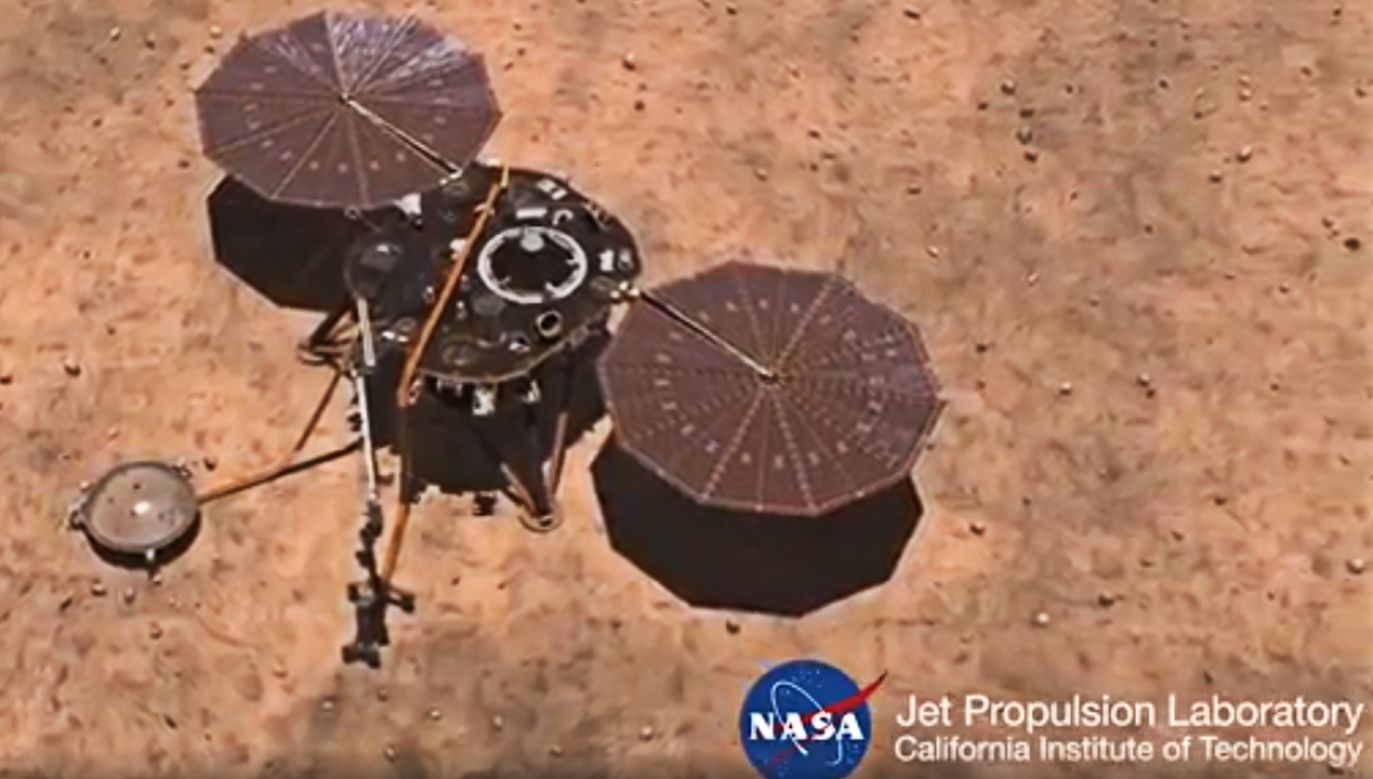Amerykańska sonda InSight z polskim mechanizmem ma dolecieć na Marsa pod koniec listopada (fot. NASA)