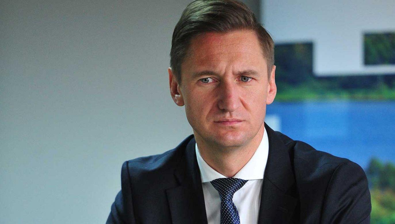 Olgierd Geblewicz, marszałek województwa zachodniopomorskiego  (fot.  PAP/Marcin Bielecki)