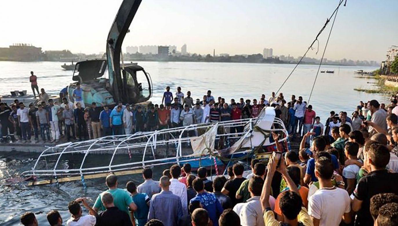 Na Nilu w Sudanie przewróciła się łódź przewożąca uczniów do szkoły (fot. TT/Free Press Journal)