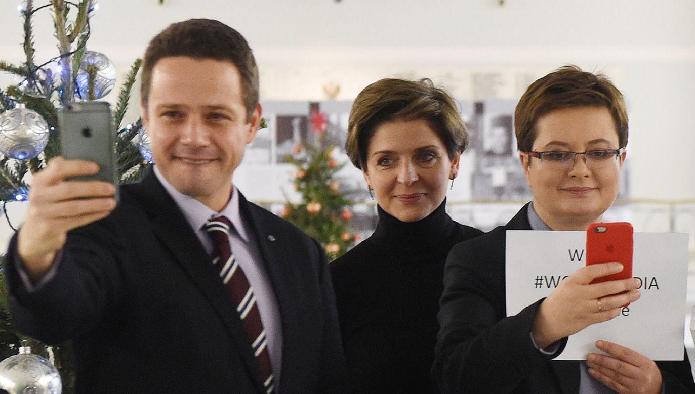 Lubnauer o kandydaturze Trzaskowskiego na prezydenta stolicy (fot. arch.PAP/Radek Pietruszka)