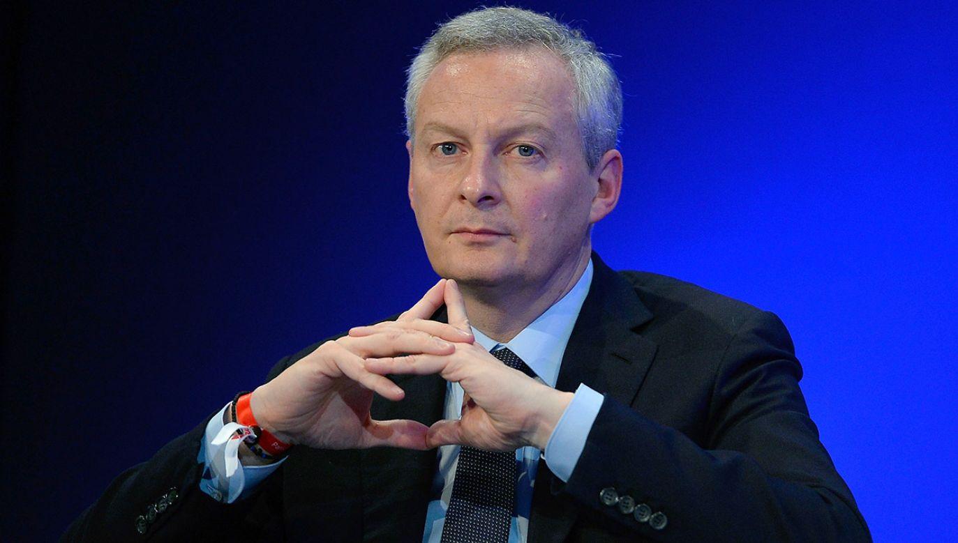 Zdaniem Bruno Le Maire, francuskiego ministra, Polska będzie wkrótce jednym z największych krajów UE (fot. Aurelien Meunier/Getty Images)