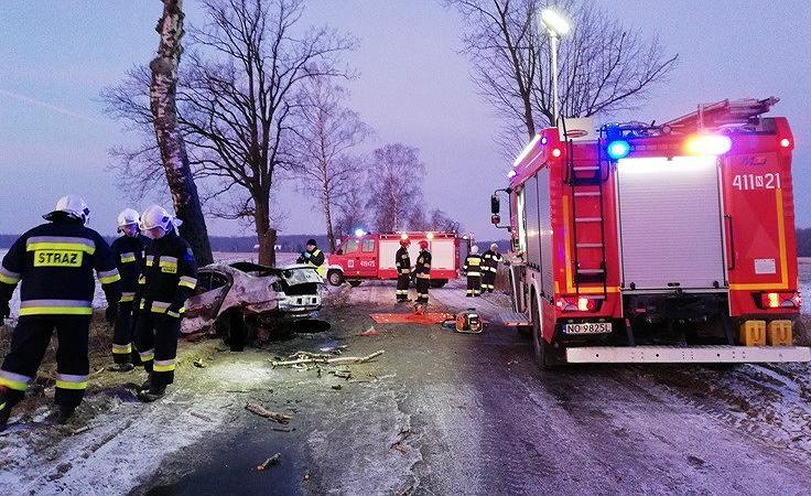 (fot. PAP/PSP w Braniewie)