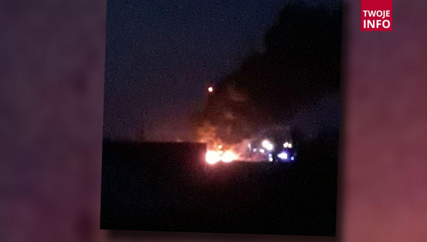 Do kolejnego pożaru doszło nieco ponad dobę po poprzednim (fot. Twoje Info/p. Ewelina)