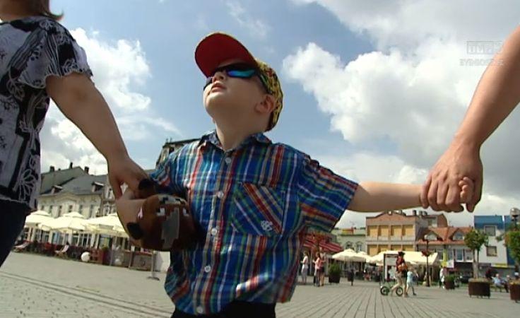 Mały Alex z Inowrocławia czeka na przeszczep szpiku