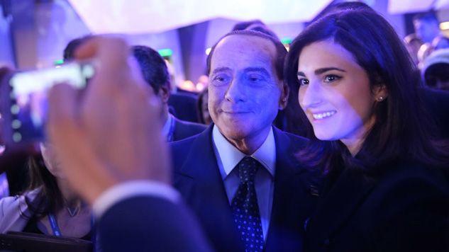 Silvio Berlusconi trzykrotnie był premier Włoch (fot. Sean Gallup/Getty Images)