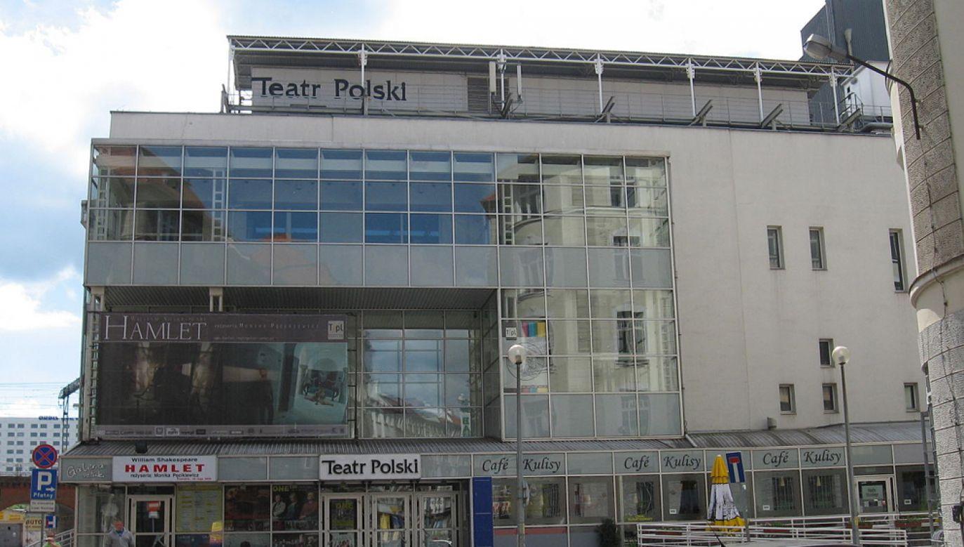 Cezary Morawski został wybrany na dyrektora Teatru Polskiego we Wrocławiu pod koniec sierpnia 2016 r.(fot. Michał460/commons.wikimedia.org)