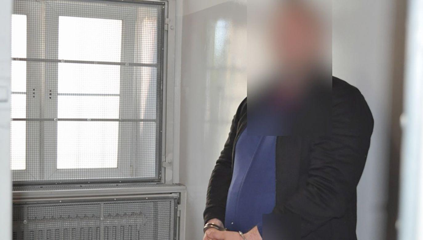 W wyniku tego przestępstwa doszło do zakłócenia działania całej sieci telekomunikacyjnej na terenie gminy Ścinawa (fot. KPP w Lubinie)