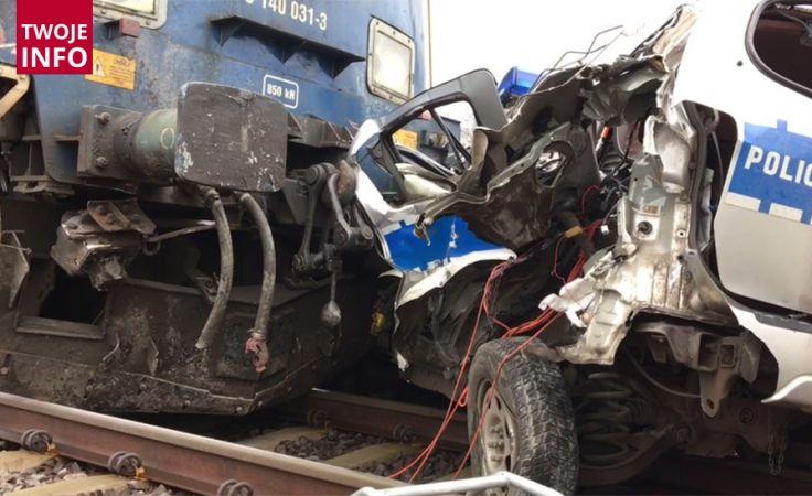 Do tragicznego wypadku doszło na przejeździe kolejowym we Wrocławiu (fot.Twoje Info/Łukasz)