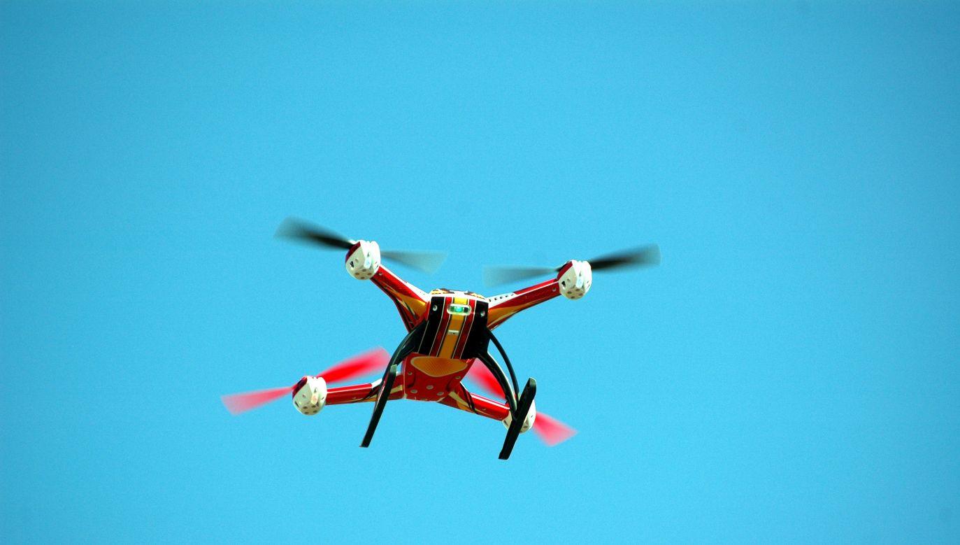 Śląska Metropolia ma być wymarzonym miejscem testowania technologii dronów (fot. Wikimedia Commons/Radosław Drożdżewski)