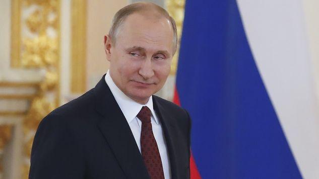 Prezydent Rosji Władimir Putin (fot. REUTERS/Sergei Ilnitsky)