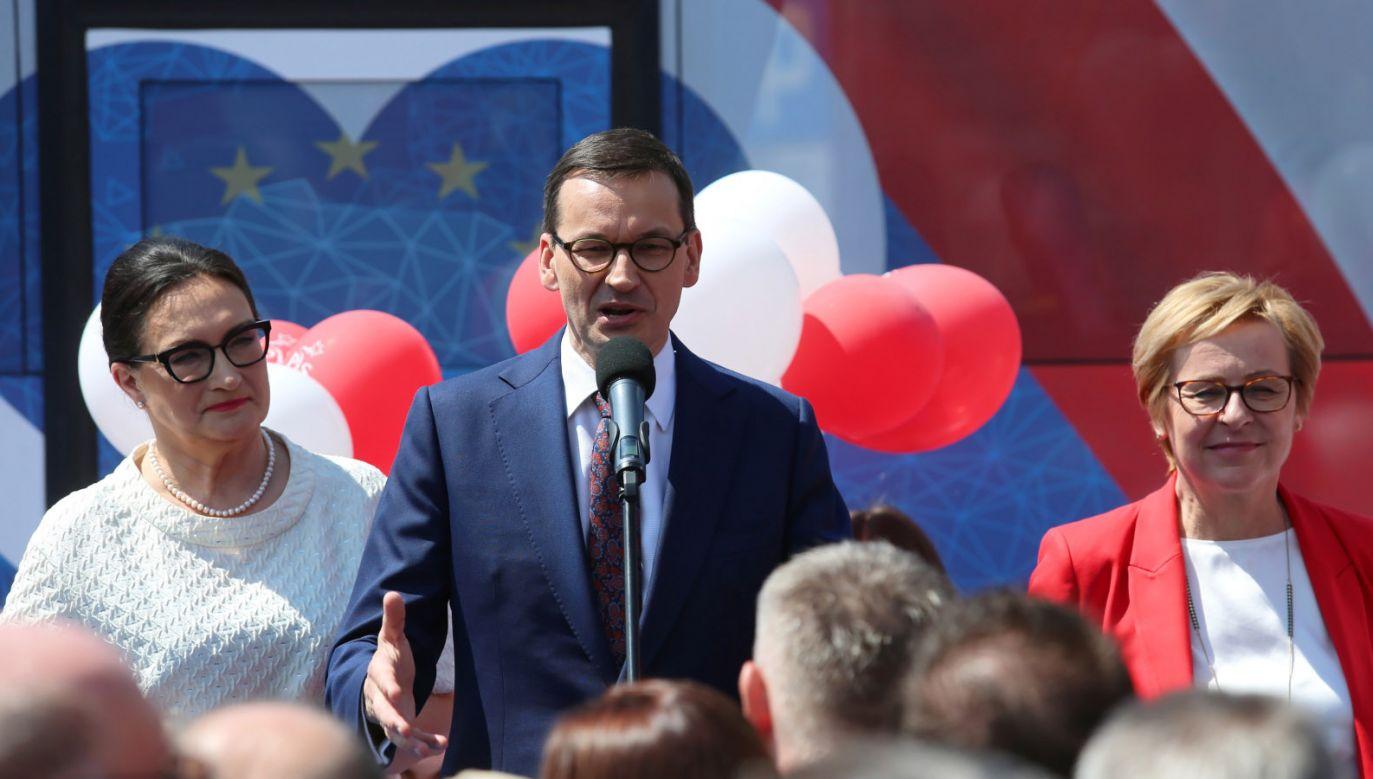 """""""Chcemy postąpić jak najbardziej praktycznie"""" (fot. PAP/Andrzej Grygiel)"""