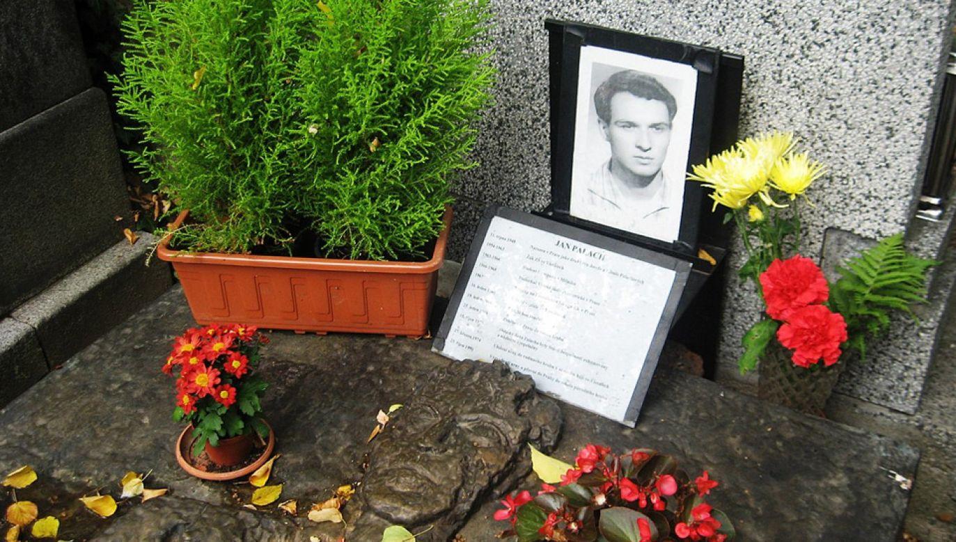 Jan Palach zmarł trzy dni po akcie samospalenia (fot. Wiki/Prewitt8)