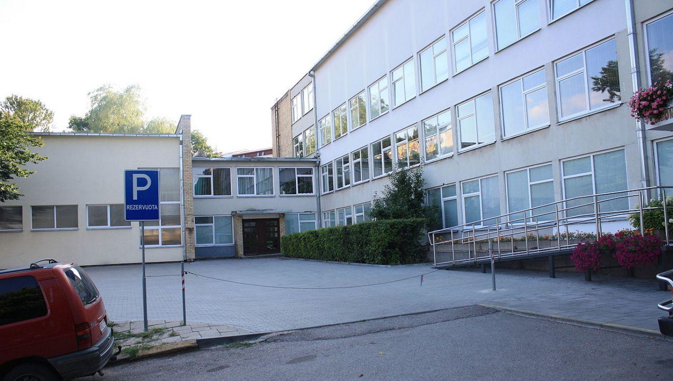 Adam Mickiewicz High School in Vilnius, Lithuania. Photo: Prancuze/Wikimedia Commons/CC-BY-SA-4.0