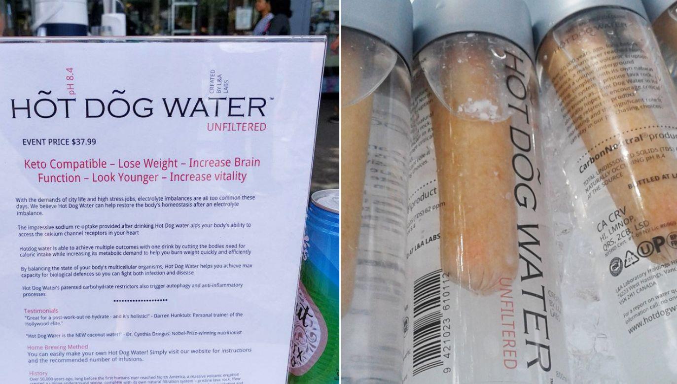 Napój reklamowany jest jako bezglutenowy, bogaty w sód i źródło elektrolitów (fot. tt/Paki Faloda)