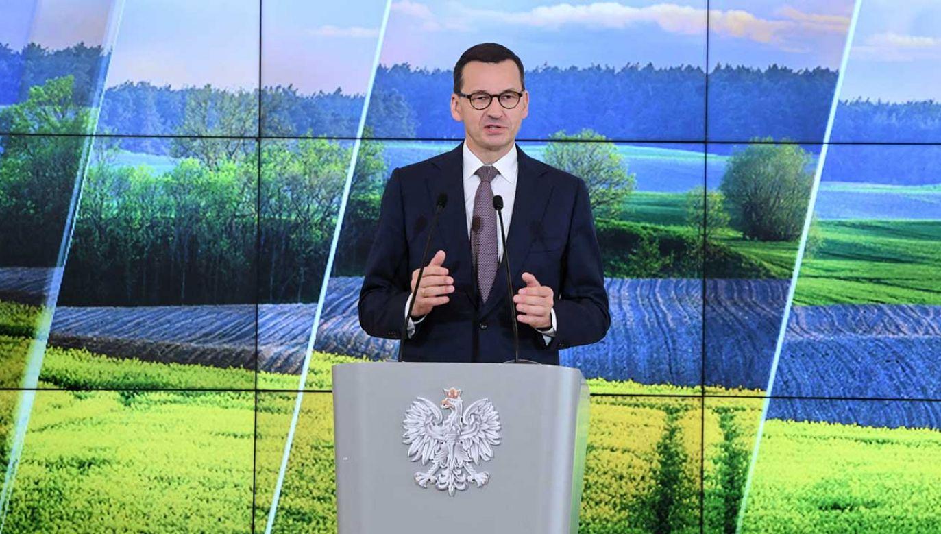 PiS pokazał nowy spot wyborczy z udziałem premiera Mateusza Morawieckiego (fot. PAP/Radek Pietruszka)