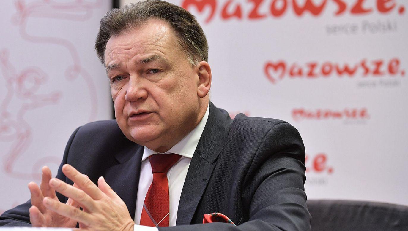 Wiceprezes PSL Adam Struzik (fot. arch.PAP/Marcin Obara)