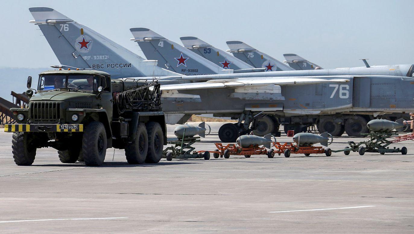 Pięć rosyjskich samolotów latało nad Bałtykiem bez włączonych transponderów  (fot. REUTERS/Vadim Savitsky/Russian Defense Ministry via Reuters)