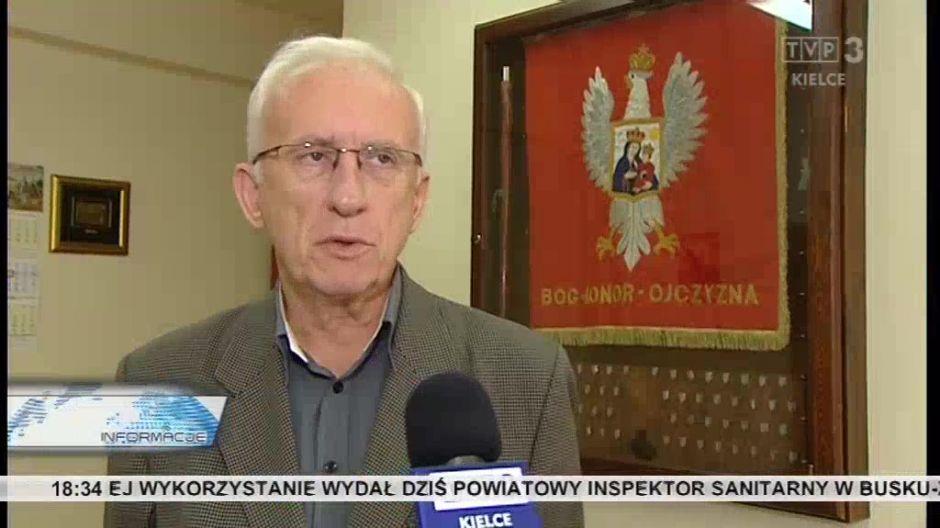 Waldemar Bartosz, przewodniczący regionu Świętokrzyskiego NSZZ Solidarność