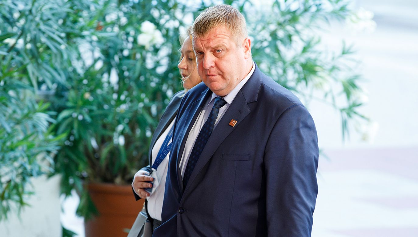 Rząd jednomyślnie zaaprobował propozycję nacjonalistycznego ugrupowania Zjednoczeni Patrioci, oświadczył wywodzący się z tego ugrupowania wicepremier Krasimir Karakaczanow (fot. arch. PAP/EPA/FLORIAN WIESER)