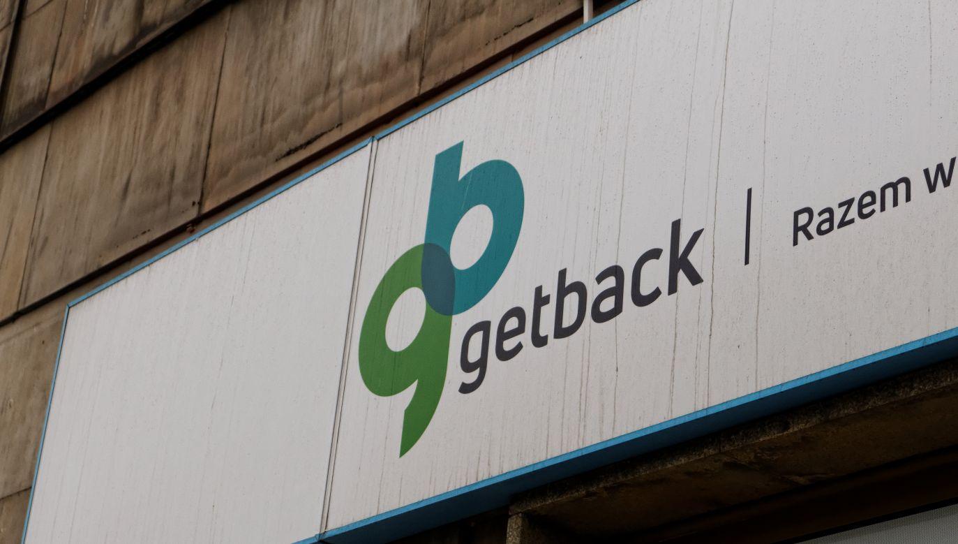 GetBack company logo. Photo: Mateusz_Szymanski/Shutterstock