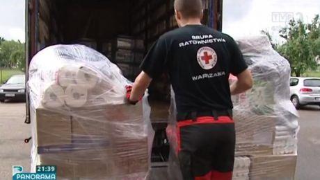 Z Gdańska wyruszył konwój humanitarny PCK
