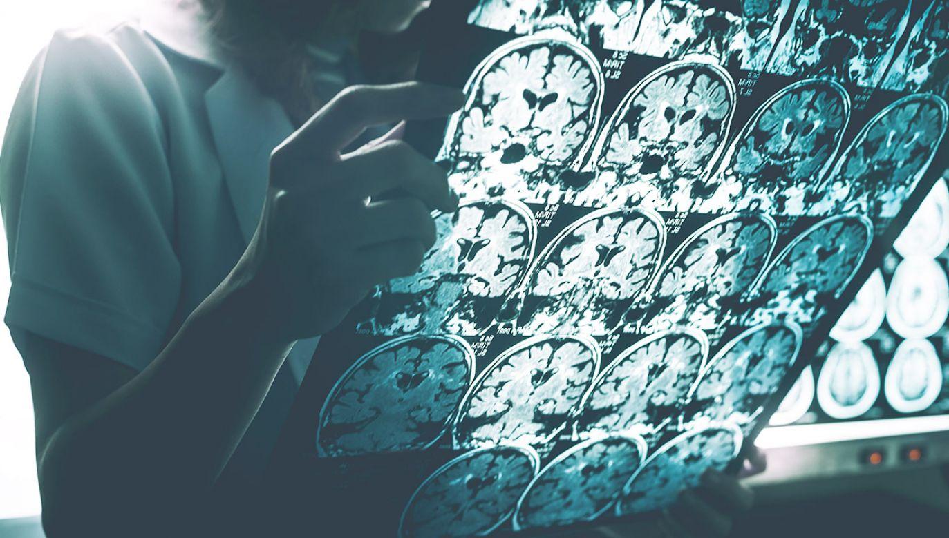 Kriomikroskopia elektronowa (nazywana też mikroskopią krioelektronową) pozwala wizualizować molekuły złożone nawet z tysięcy atomów (fot. Shutterstock/Atthapon Raksthaput)