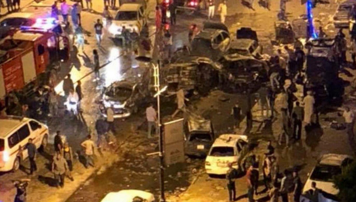Jak dotychczas nikt nie przyznał się do zamachu (fot. Twitter/alenizy_amal)
