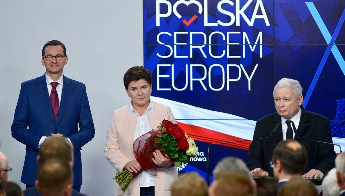 PiS wygrało wybory do PE (fot. PAP/Jakub Kamiński)