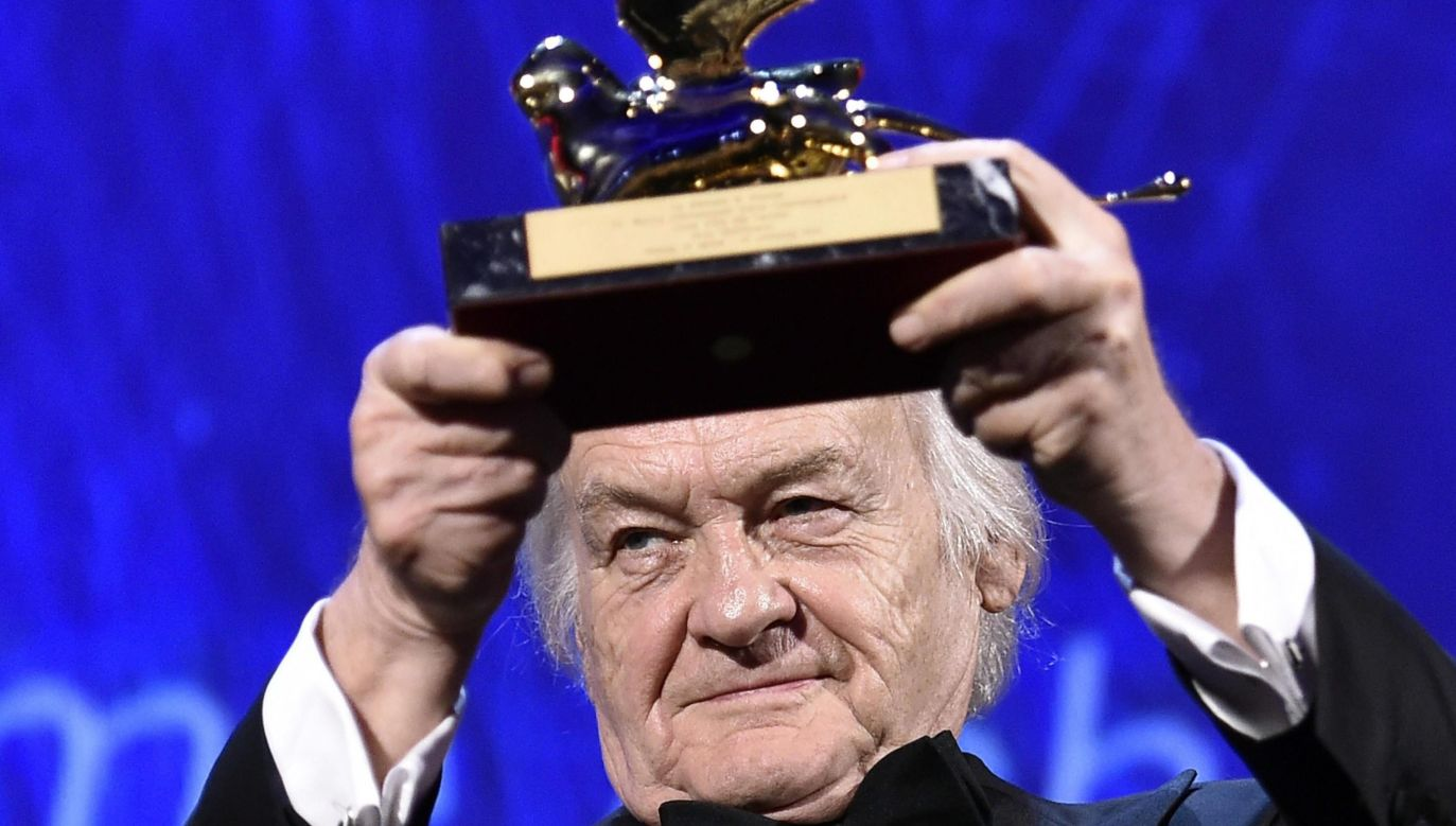 Jerzy Skolimowski received a Golden Lion for Lifetime Achievement in 2016. Photo: EPA/CLAUDIO ONORATI